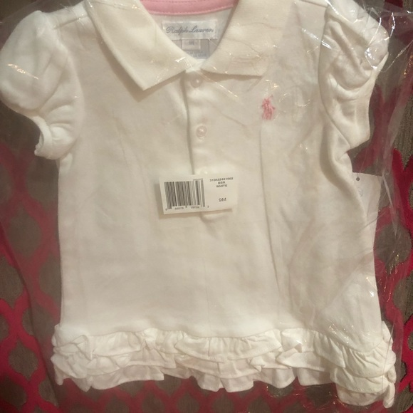 Ralph Lauren Other - Ralph Lauren Girls white outfit! 2 piece NWT 🎉🎉